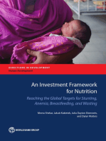 An Investment Framework for Nutrition: Reaching the Global Targets for Stunting, Anemia, Breastfeeding, and Wasting