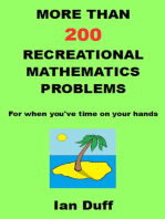 More Than 200 Recreational Mathematics Problems