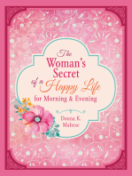 The Woman's Secret of a Happy Life for Morning & Evening