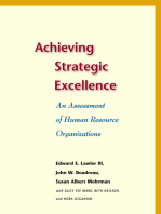 Achieving Strategic Excellence