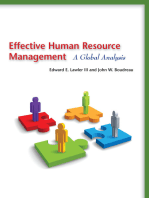 Effective Human Resource Management