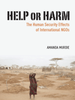 Help or Harm: The Human Security Effects of International NGOs