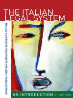 The Italian Legal System