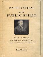 Patriotism and Public Spirit