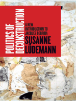 Politics of Deconstruction