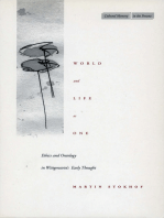 World and Life as One: Ethics and Ontology in Wittgenstein's Early Thought