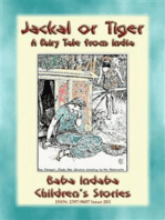 JACKAL OR TIGER - an old fairy tale from India