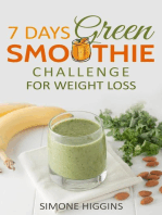 7 Days Green Smoothie Challenge For Weight Loss