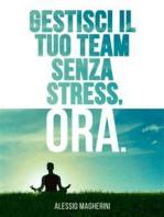 Gestisci il tuo Team senza Stress, Ora.
