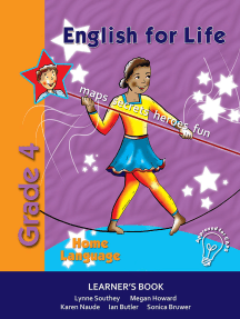English for Life Grade 4 Home Language Learner's Book