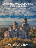 Conversational Bulgarian Quick and Easy