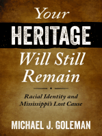 Your Heritage Will Still Remain