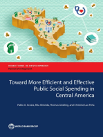 Toward More Efficient and Effective Public Social Spending in Central America