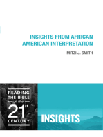 Insights from African American Interpretation