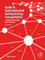Guide to Food Safety and Quality during Transportation: Controls, Standards and Practices