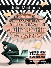 Julia Michaels: Flying High to Success Weird and Interesting Facts on Julia Clarin Cavazos!