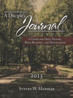 A Disciple's Journal 2015