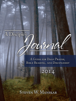 A Disciple's Journal 2014