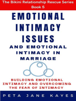 Emotional Intimacy Issues and Emotional Intimacy in Marriage