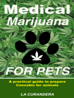 Medical Marijuana for Pets. A practical guide to prepare Cannabis for animals