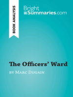 The Officers' Ward by Marc Dugain (Book Analysis)