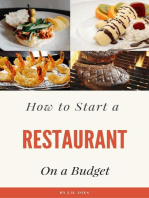 How to Start a Restaurant on a Budget