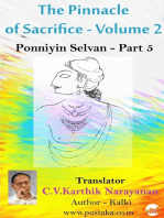 The Pinnacle of Sacrifice - Volume 2 - Ponniyin Selvan - Part 5