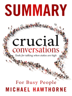 Crucial Conversations Summary