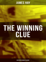 THE WINNING CLUE (Detective Novel Classic)