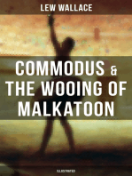COMMODUS & THE WOOING OF MALKATOON (Illustrated)