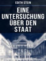 Eine Untersuchung über den Staat