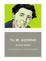 Alban Berg. El maestro de la transición mínima (Monografías musicales)