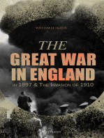The Great War in England in 1897 & The Invasion of 1910 (Illustrated)