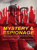 MYSTERY & ESPIONAGE - William Le Queux Edition