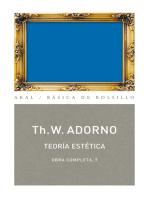 Teoría estética: Obra completa  7