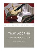 Escritos musicales VI