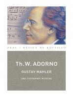 Gustav Mahler. Una fisionomía musical (Monografías musicales)