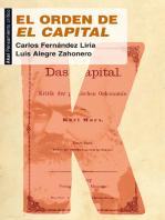 El orden de 'El Capital'