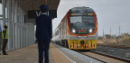 Kenyans Cheer Opening Of Mombasa-Nairobi Railway