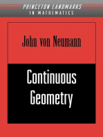 Continuous Geometry