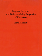 Singular Integrals and Differentiability Properties of Functions (PMS-30), Volume 30