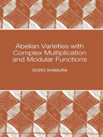 Abelian Varieties with Complex Multiplication and Modular Functions