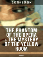 The Phantom of the Opera & The Mystery of the Yellow Room (Unabridged)