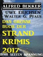 Das große Buch der Strand-Krimis 2017 - 898 Seiten Spannung