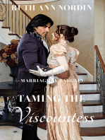 Taming The Viscountess