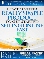 How to Create a Really Simple Product to Get Started Selling Online Fast