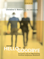 From Hello to Goodbye