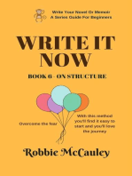 Write it Now. Book 6 - On Structure