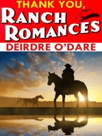 Thank You, Ranch Romances