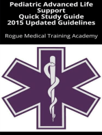 Pediatric Advanced Life Support Quick Study Guide 2015 Updated Guidelines